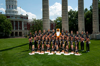 MU Cheerleaders 2012