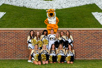 Mizzou Cheerleaders 2017