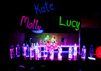 Kate's Blacklight Party